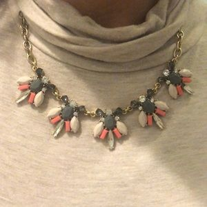 J. Crew gold chunky necklace
